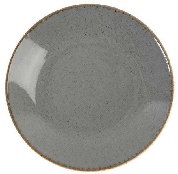 Porland Seasons Cous Cous Plate D26cm Dark Grey