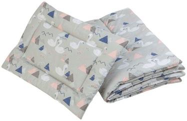 Klups Albero Mio Blanket And Pillow Set 2pcs Swans