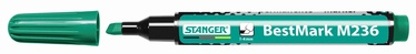 Stanger M236 BestMark Permanent Marker 1-4mm 10pcs Green 712007