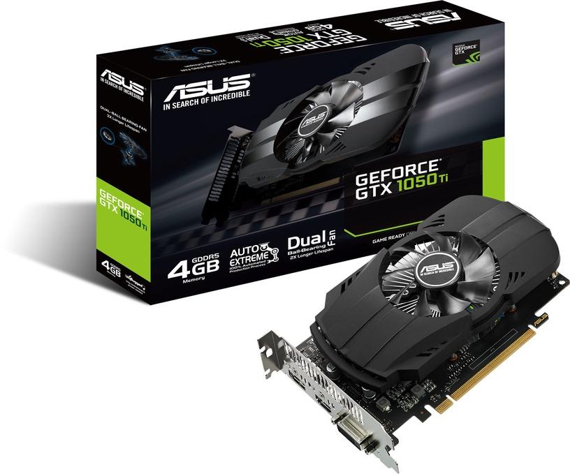 Asus Phoenix GeForce GTX1050 Ti 4GB GDDR5 PCIE PH-GTX1050TI-4G