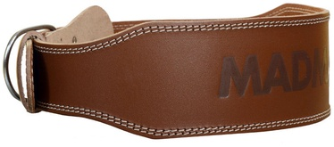 Mad Max Full Leather Belt Natural Brown M