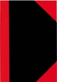 Herlitz Notepad C.v. A7/100 Pages Red/Black