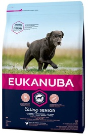 Eukanuba Caring Senior Large Breed Chicken 15kg