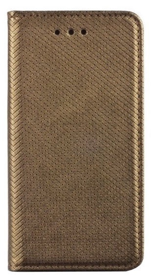 Mocco Smart Magnet Book Case For Samsung Galaxy J4 Plus J415 Dark Gold