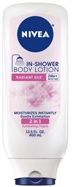 Nivea In Shower Body Lotion 400ml Radiant Silk