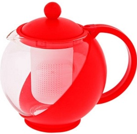 Banquet Bulbus Teapot 1.25l Red