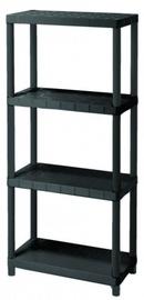 Curver Sigma 12'' Shelf 60x131x30cm Black