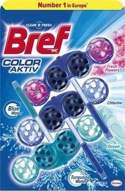 Bref Color Aktiv Water Mix Toilet Block 3x50g