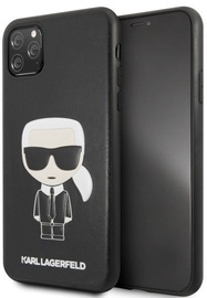 Karl Lagerfeld Iconic Karl Embossed Back Case For Apple iPhone 11 Pro Max Black