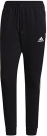 Adidas Essentials Fleece Tapered Cuff 3-Stripes Pants GK8967 Black 2XL