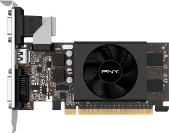 PNY GeForce GT 710 Single Fan LP 2GB GDDR5 PCIE VCG7102D5SFPPB