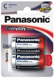 Panasonic C/LR14 Alkaline Battery x2
