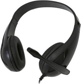 FreeStyle FH4008B Universal Gaming Headphones w/Microphone Black