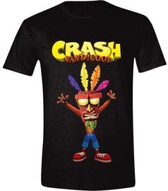 Licenced Crash Bandicoot Aku Aku T-Shirt Black M