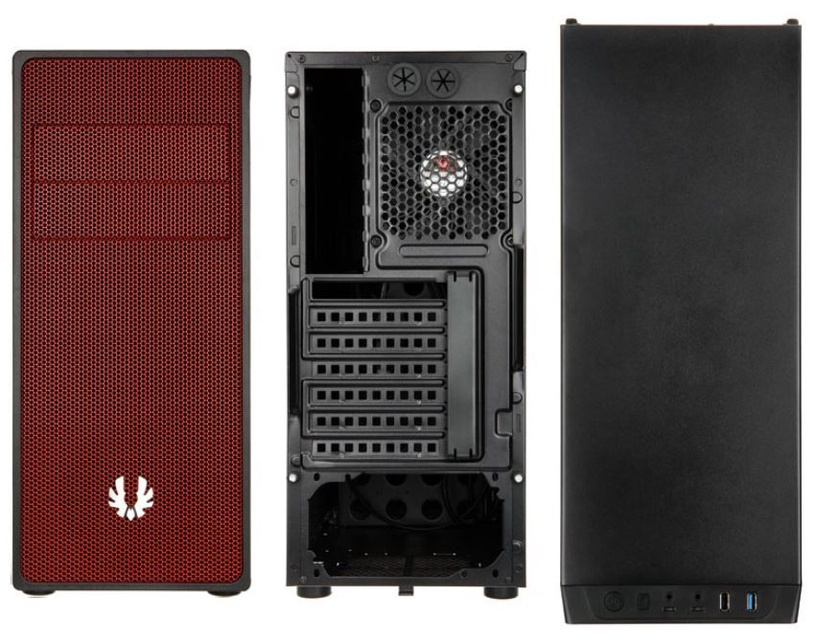 BitFenix Neos Midi Tower Black/Red