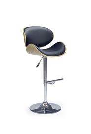 Барный стул Halmar H44 Sonoma Oak/Black
