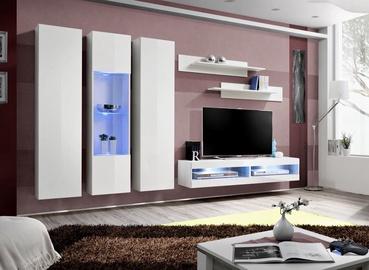 ASM Fly P10 Living Room Wall Unit Set White