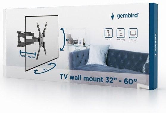 """Gembird WM-60RT-01 TV Wall Mount 32-60"""""""