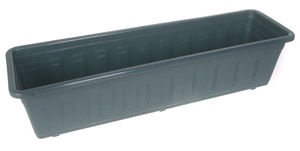 Plastkon Garden Window Box 60cm Green