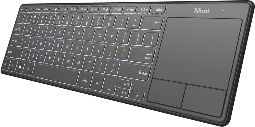 Trust Theza Wireless Keyboard w/ Touchpad US
