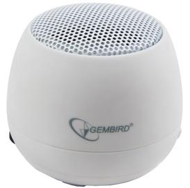 Juhtmevaba kõlar Gembird SPK-103 White, 2 W