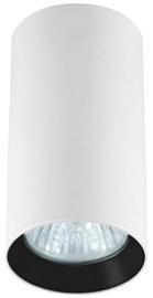 Light Prestige Manacor 13cm Ceiling Lamp 50W GU10 White/Black