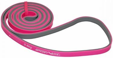 SportVida Rubber Power Band 2080x10x4.5mm Pink