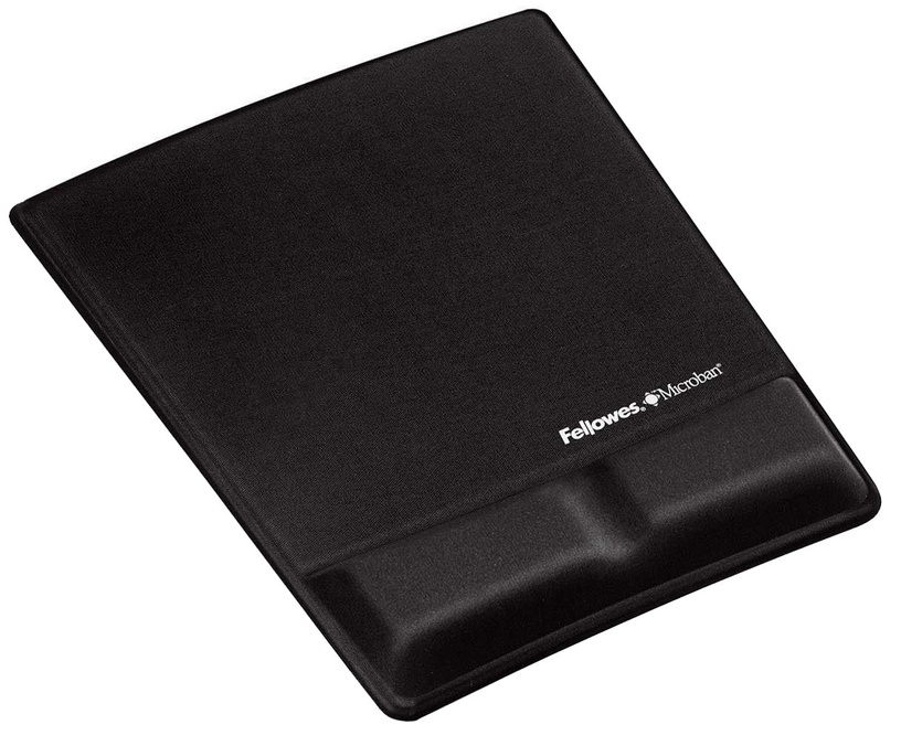 Fellowes Mouse Pad / Wrist Support Black 9181201