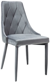 Стул для столовой Signal Meble Trix Velvet Gray