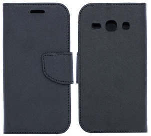 Telone Fancy Diary Bookstand Case For Samsung Galaxy A6 Black