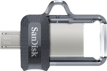 USB mälupulk SanDisk Ultra Dual M3.0, USB 3.0, 256 GB