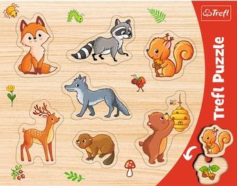 Pusle Trefl Frame Forest Animals 31307, 7 tk