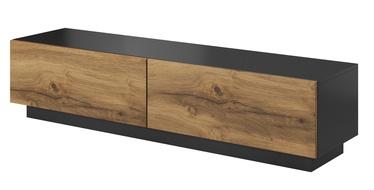 ТВ стол Halmar Livo RTV 160S Antracite/Votan Oak, 1600x400x380 мм