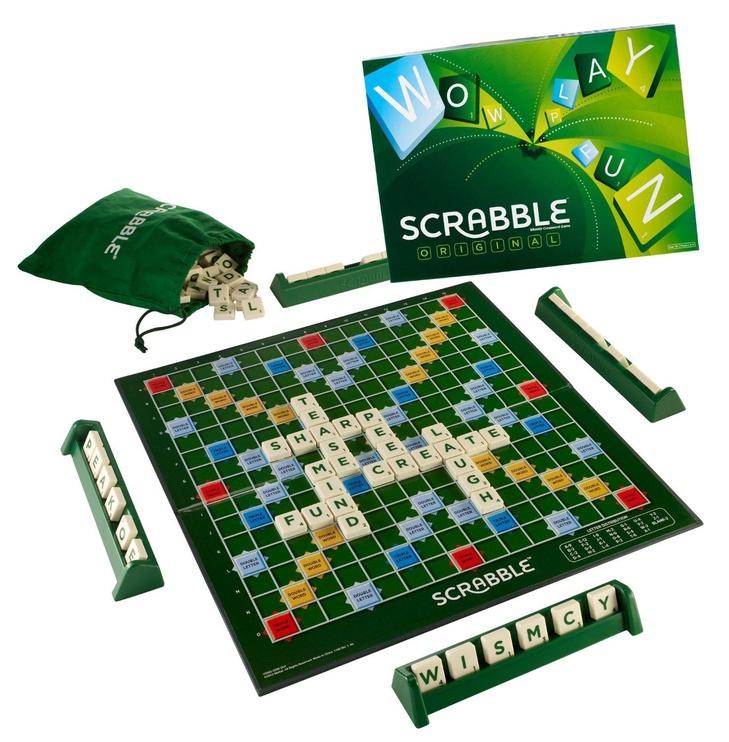 Lauamäng Mattel Scrabble Original Y9592, EN