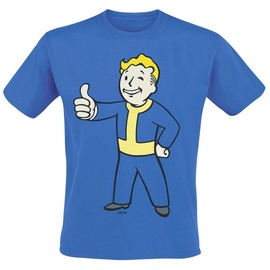Gaya Entertainment T-Shirt Fallout Thumbs Up Blue S