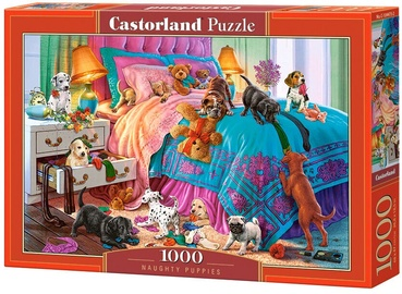Pusle Castorland Naughty Puppies, 1000 tk