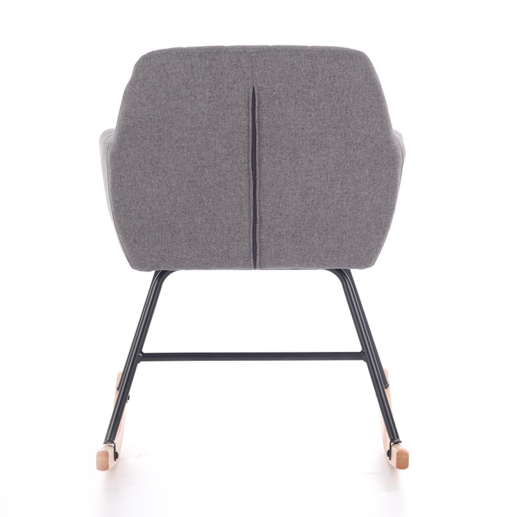 Tugitool Halmar York Grey, 61x75x79 cm