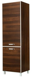 Bodzio Ola High Narrow Kitchen Cabinet 60 Left Nut