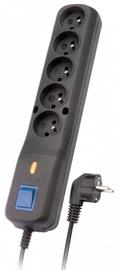 Lestar Surge Protector 5 Outlet Black 1.5m