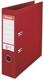 Esselte Folder No1 Power 7.5cm Burgundy