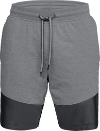 Under Armour Microthread Terry Mens Shorts 1306477-019 Grey L