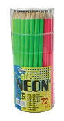 Centrum Neon Pencil HB 72pcs