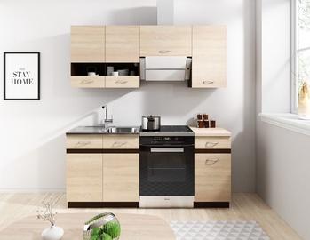 Кухонный гарнитур WIPMEB Livia, дубовый, 1.8 м