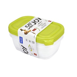 Rotho Hermetic Containers 0.5l 4pcs Green