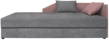 Black Red White Kelo Couch Gray/Pink