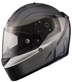 Shiro Helmet SH-336 Raiser Grey M