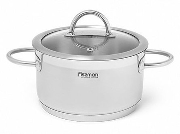 Fissman Benjamin Casserole With Glass Lid D16cm 1.8l