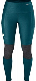 Fjall Raven Abisko Trekking Tights Woman Green S