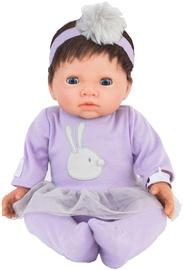 Tiny Treasures Doll With Brown Hair & Purple Tutu Dress