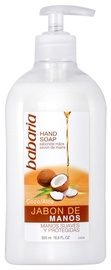 Babaria Aloe Vera & Coconut Hand Soap 500ml